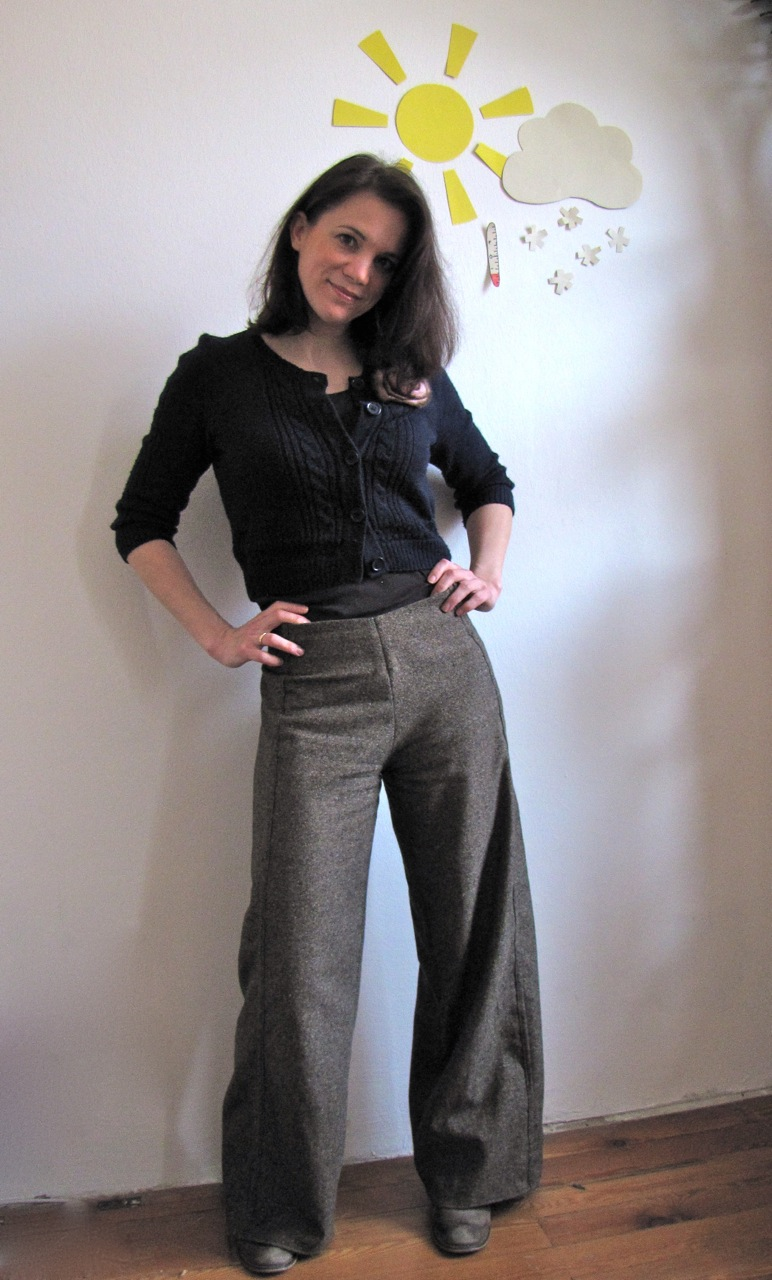 Very Warm Tweed Pants Sewing Projects Burdastyle Com
