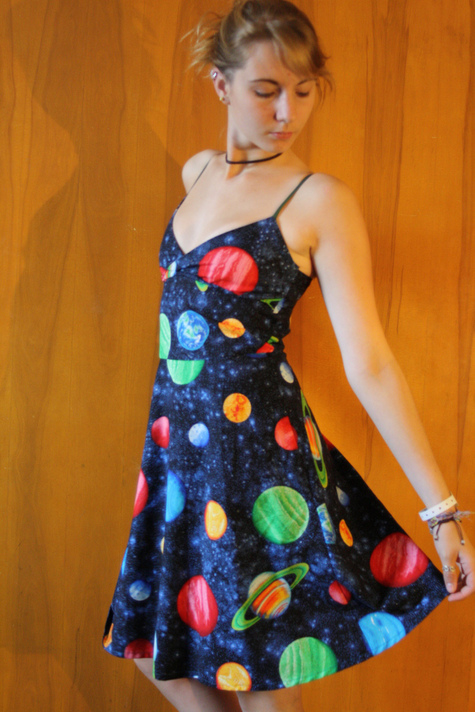 Space Dress Sewing Projects Burdastyle Com
