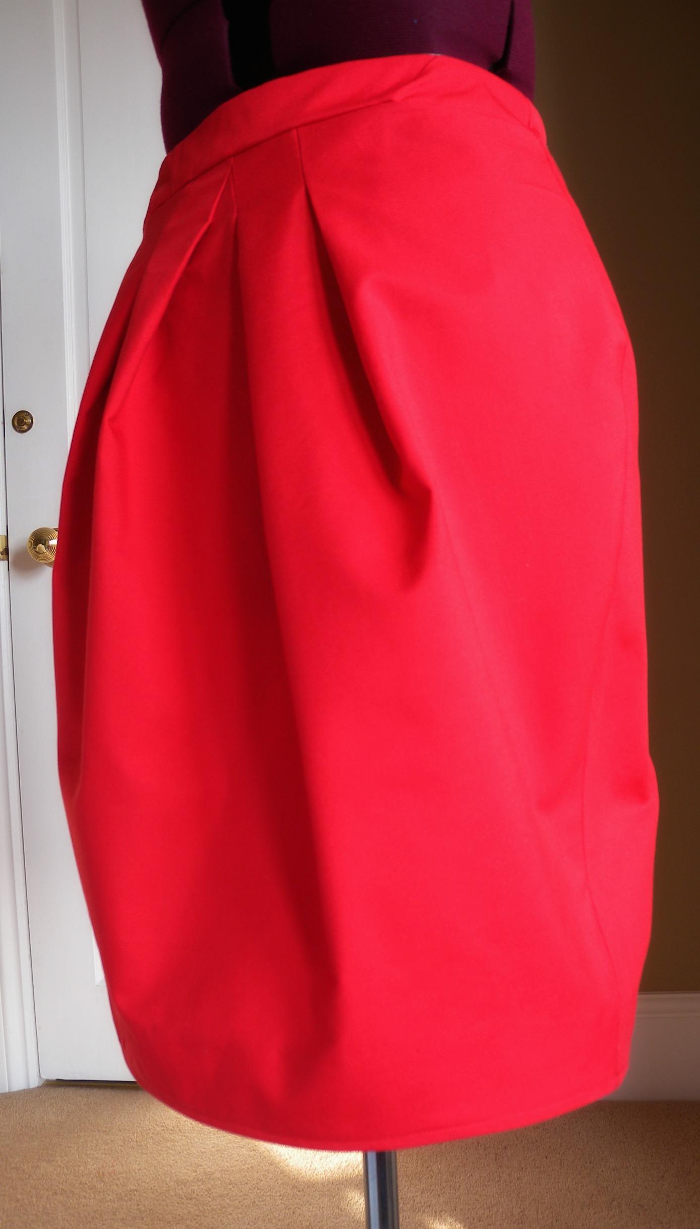 Сшить юбку тюльпан с карманами