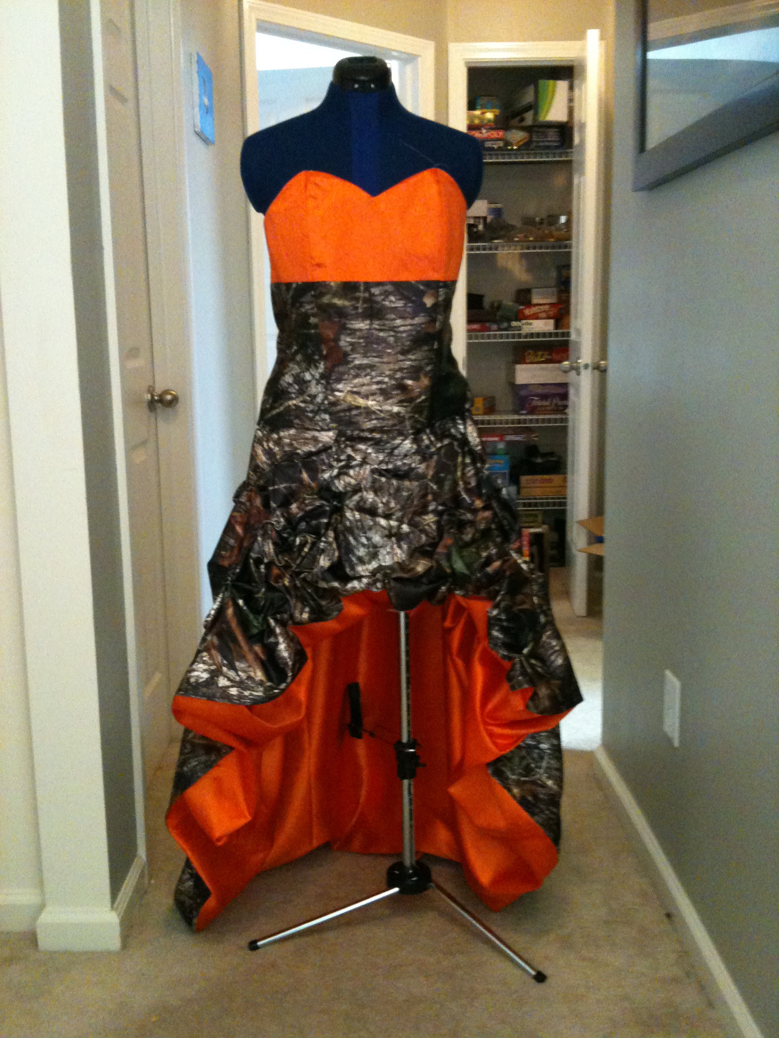 Camo Prom dress – Sewing Projects | BurdaStyle.com