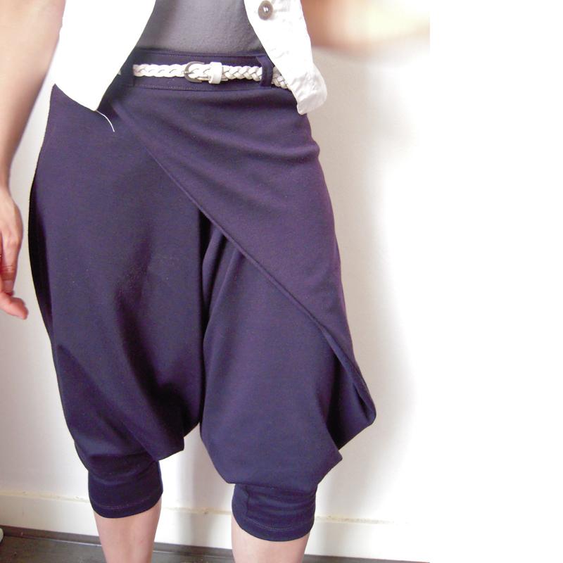 wrap harem pants � sewing projects burdastylecom