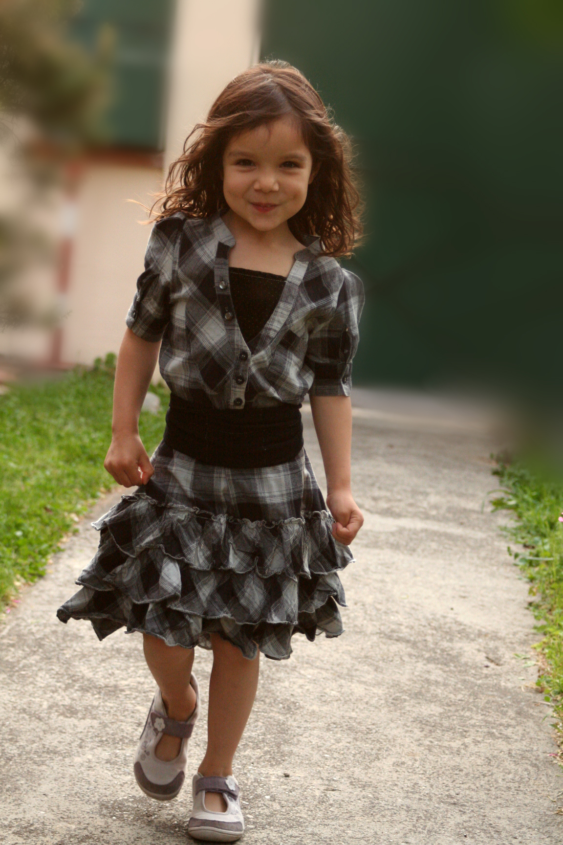 Country Little Girl Dress Sewing Projects Burdastyle Com