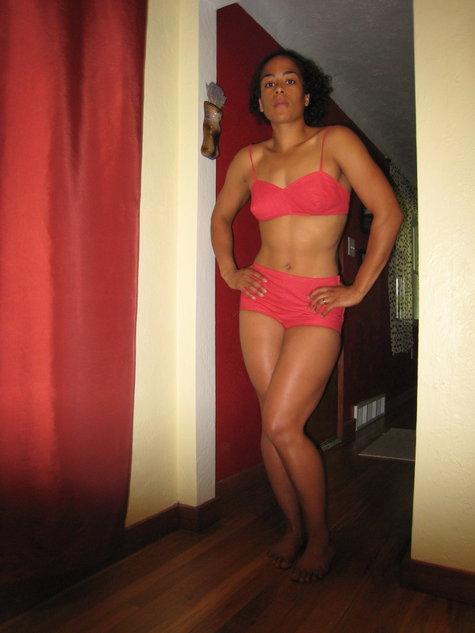 1960's Style Polka Dot Bikini