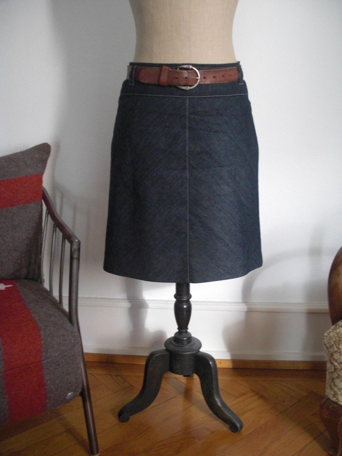 bias cut denim skirt sewing projects burdastyle
