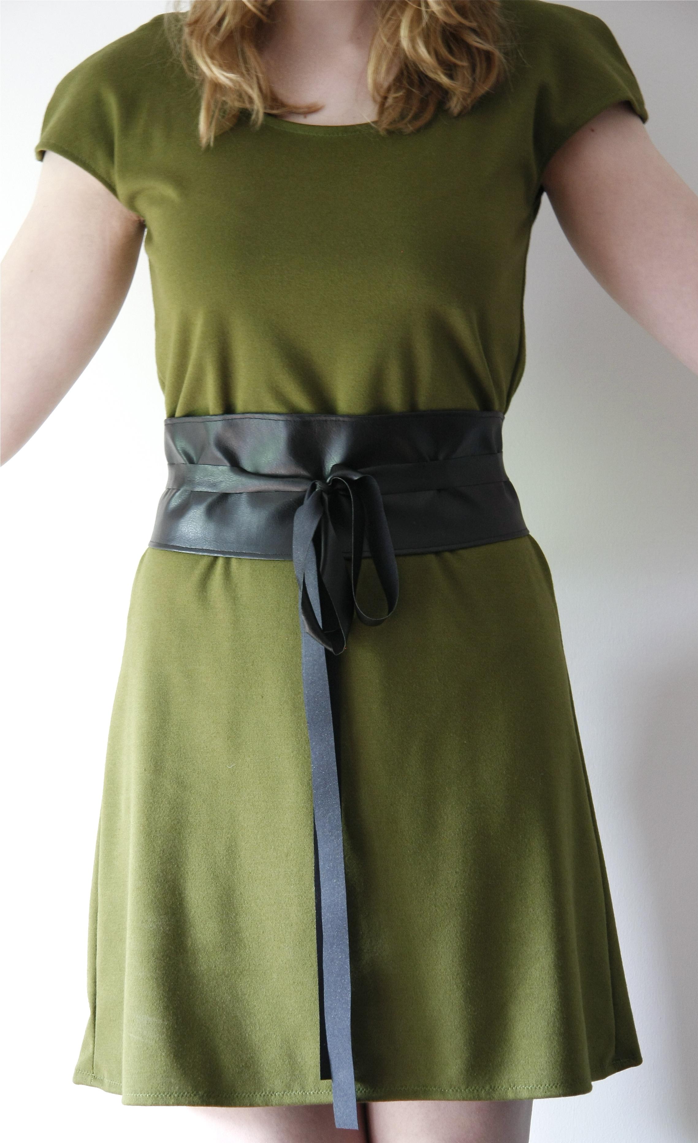 Obi Wrap Belt Sewing Projects Burdastyle Com