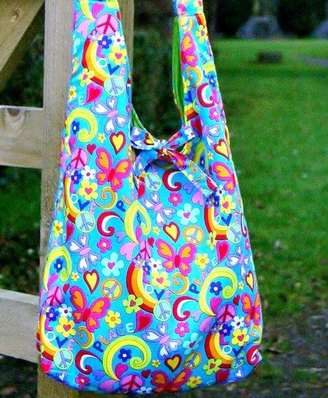 Shoulder Bag Free Sewing Pattern - Camera Shoulder Bag