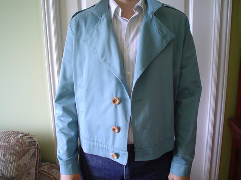 Cotton jacket – Sewing Projects