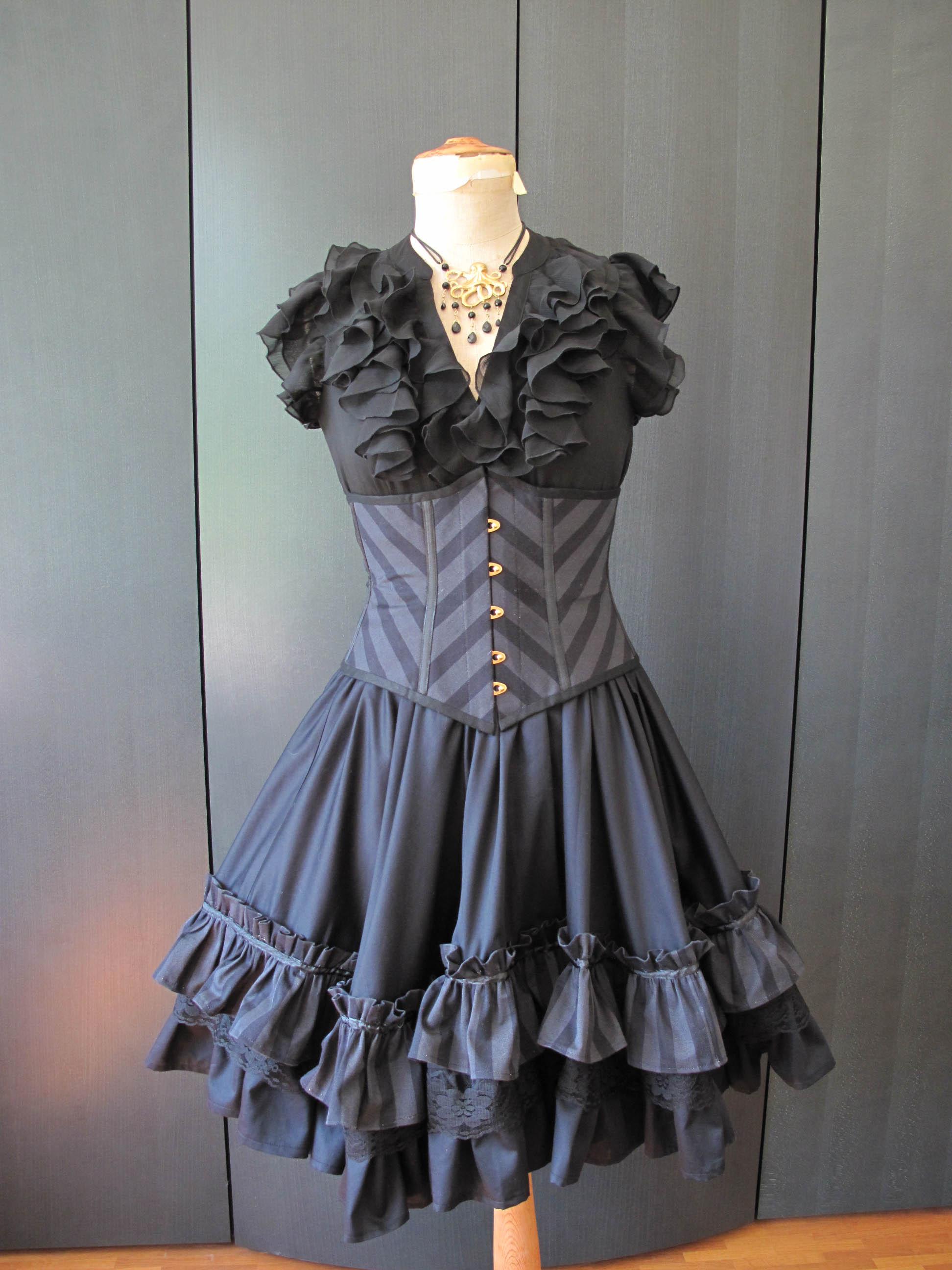 steampunk corset � sewing projects burdastylecom
