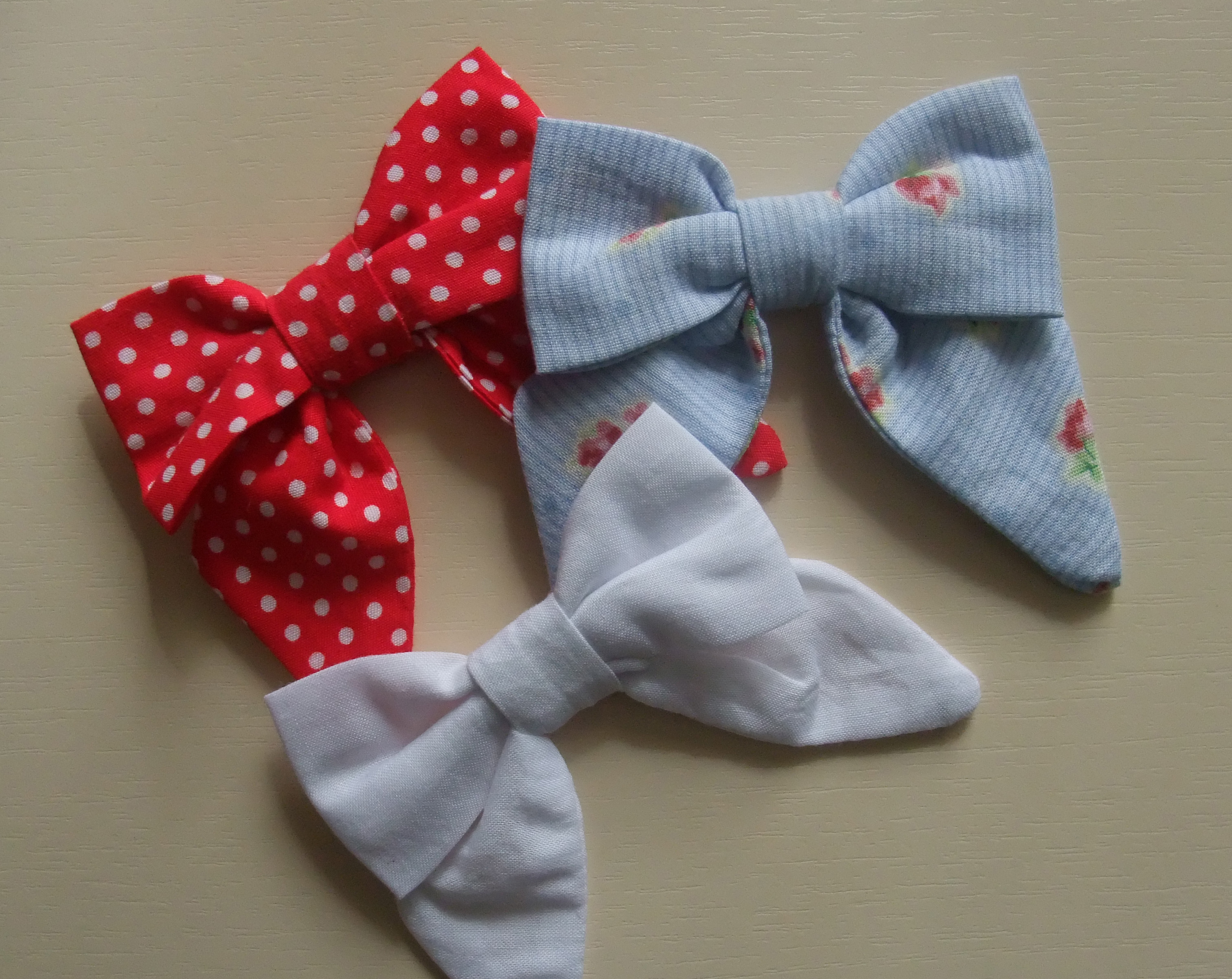 Girly bows – Sewing Projects | BurdaStyle.com
