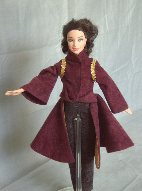Padme Amidala Star Wars Outfits For Barbie Sewing