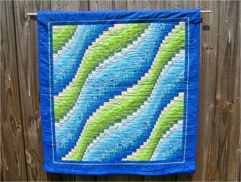 Bargello Wave Quilt Sewing Projects Burdastyle Com