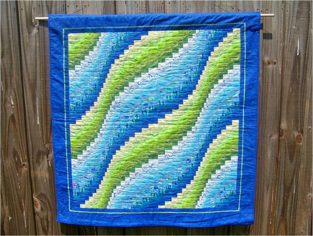 Bargello Wave Quilt Sewing Projects BurdaStyle.com