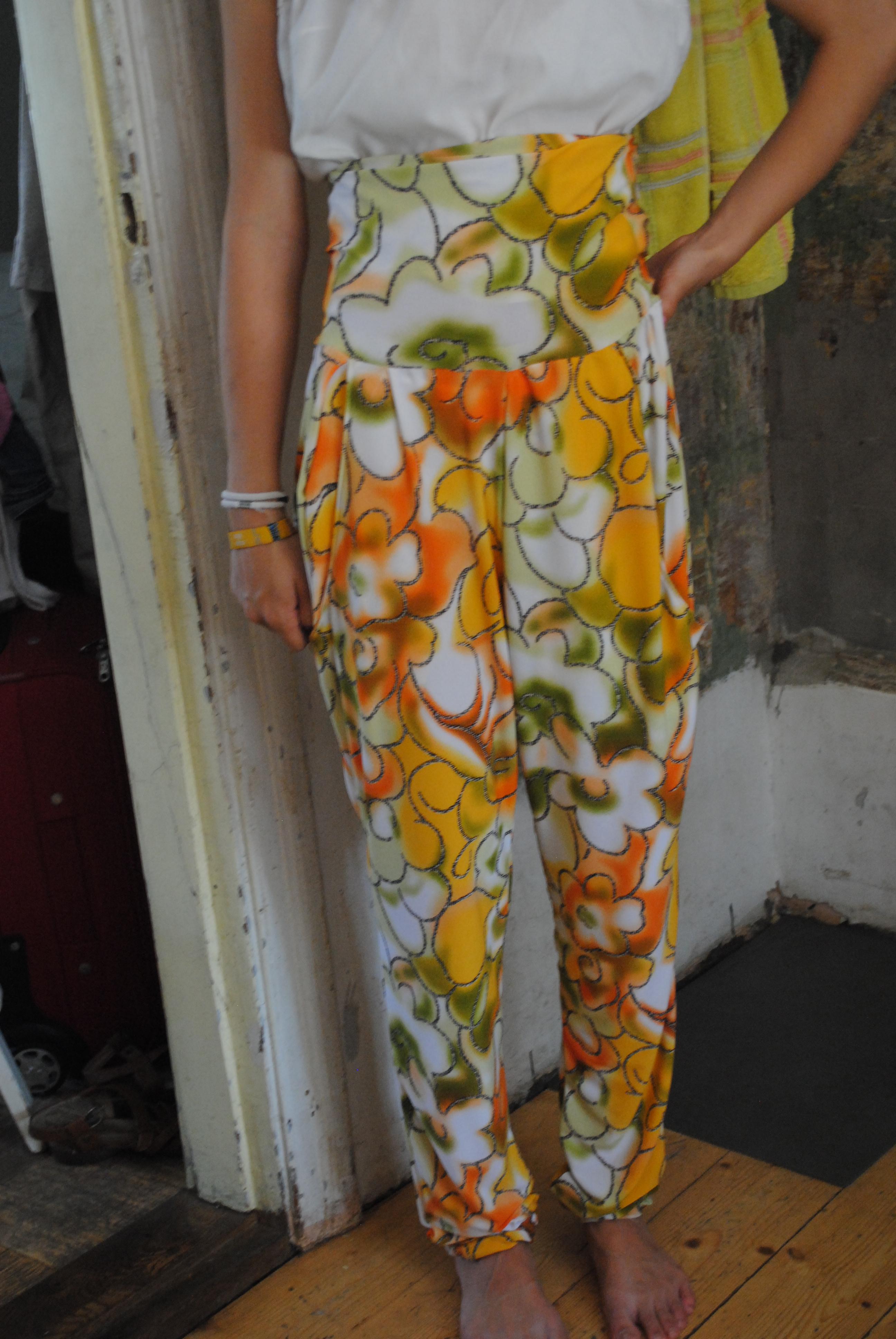 High Waist Harem Pants Sewing Projects Burdastyle Com