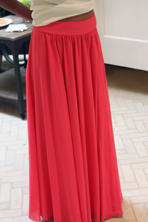 Silk Chiffon Maxi Skirt – Sewing Projects | BurdaStyle.com