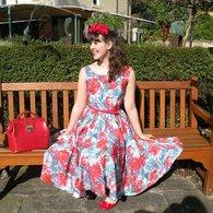Mint_dress_floral_dress_007_listing