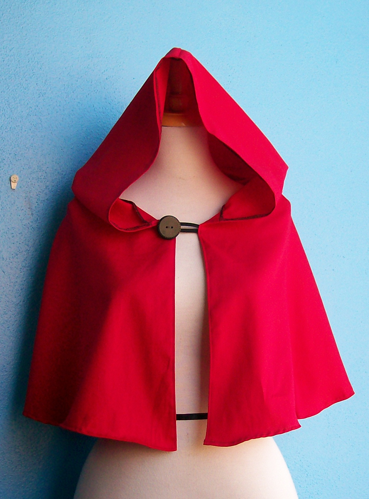 Little red riding hood cape sewing projects burdastyle jeuxipadfo Image collections