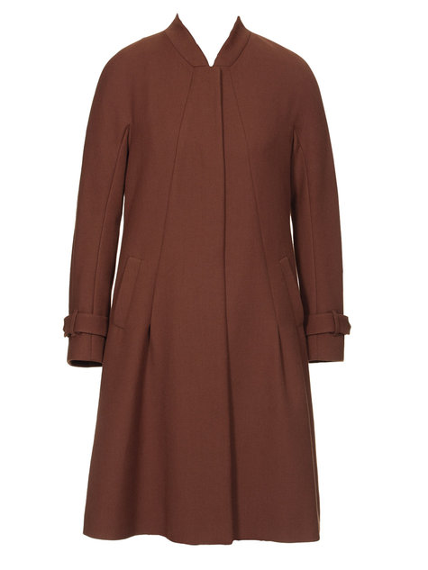 This plus size winter coat is made from 70 percent wool, 20 percent nylon, and 10 percent cashmere. If you want a premium, luxe coat for the coming winter, this is a style that should be at the.