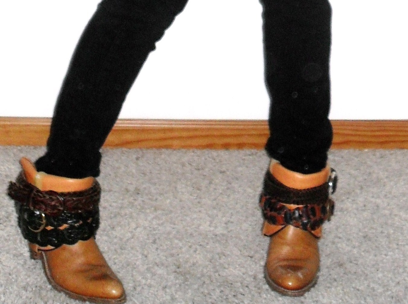 Upcycled cowboy boots – Sewing Projects