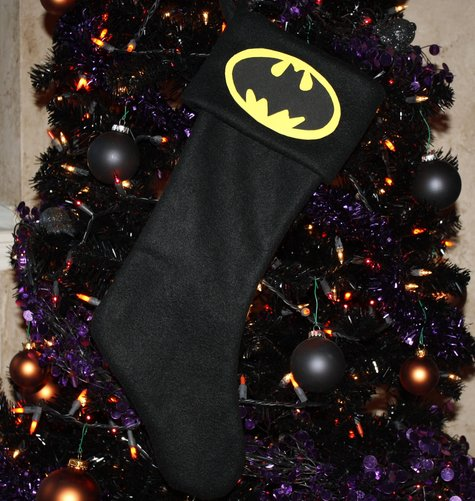 Batman Christmas Stocking – Sewing Projects | BurdaStyle.com