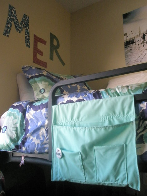 Dorm Room Bed Caddy Sewing Projects