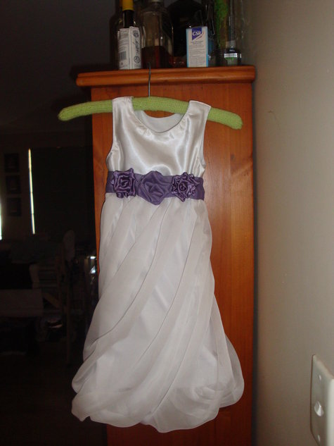 Flowergirl Twist On The Twisted Bubble Wrap Dress Sewing