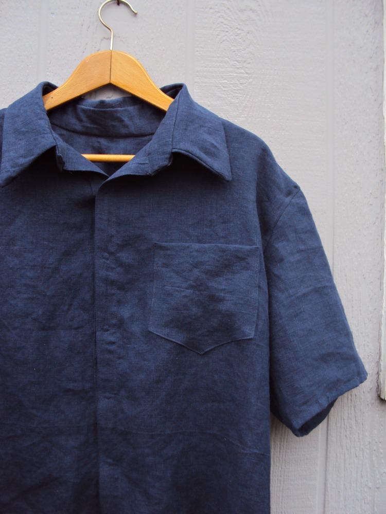 Mens Linen Dress Shirts
