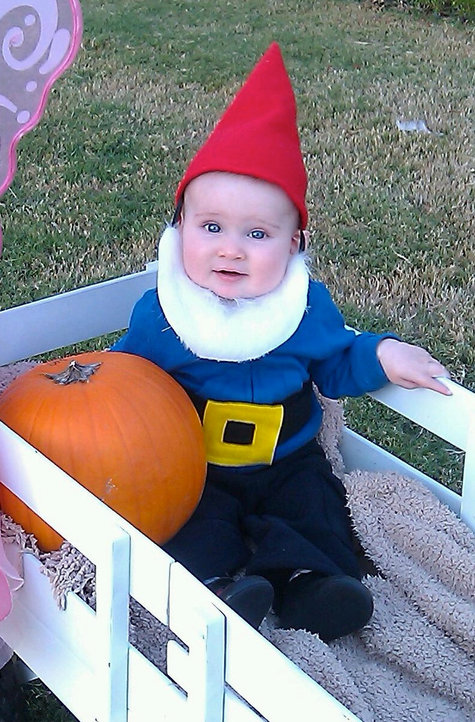 Baby Gnome: Baby Gnome Costume – Sewing Projects