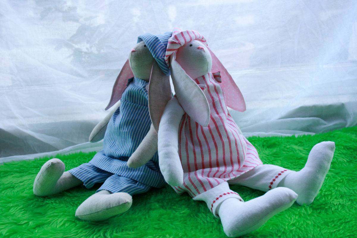 heart Tilda Bunnies! – Sewing Projects | BurdaStyle.com