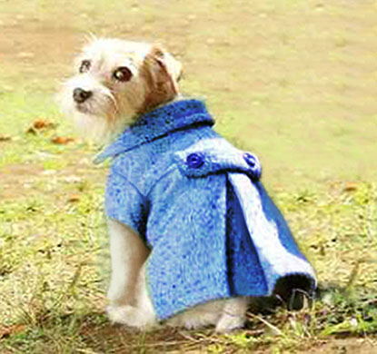 Doggy Pleated Wool Coat Sewing Pattern Sewing Projects