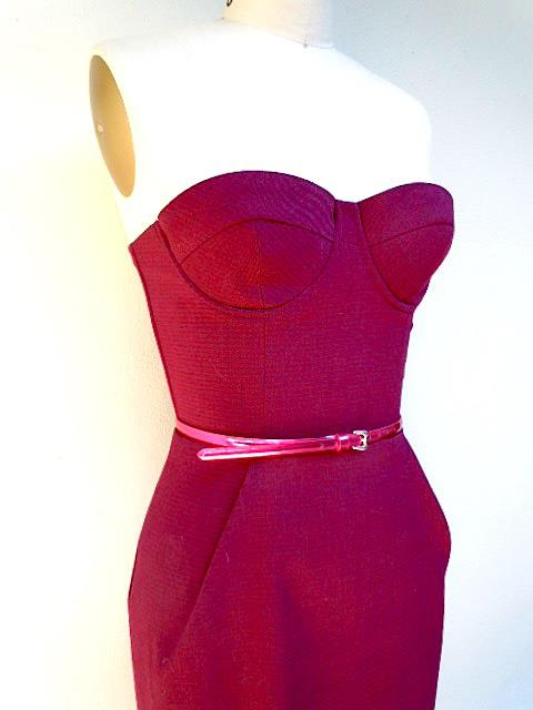 mastering the bustier dress � sewing projects burdastylecom