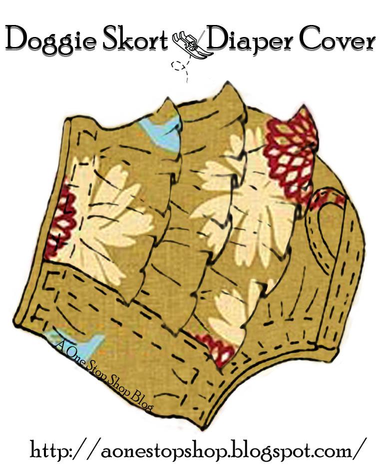 Small Dog Diaper Pattern