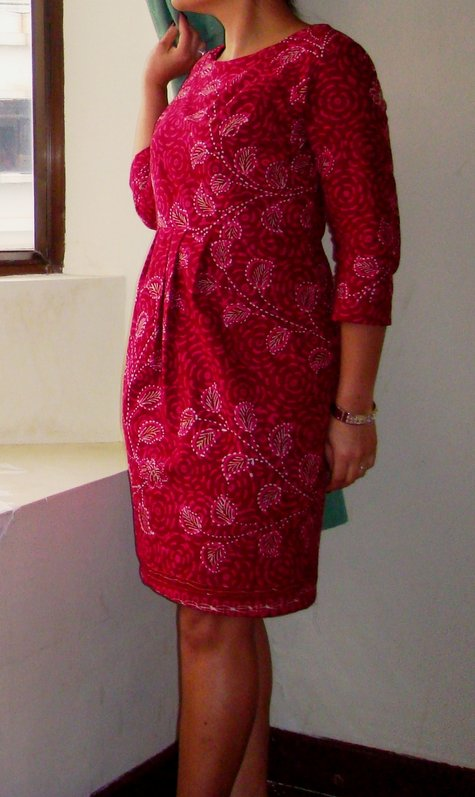 Madura Batik Dress – Sewing Projects | BurdaStyle.com