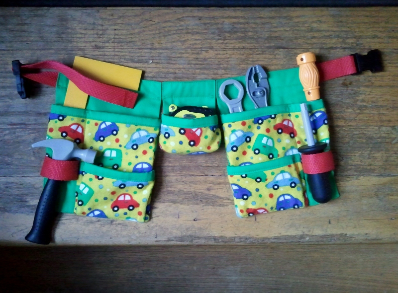 Tool Belt Craft For Toddlers