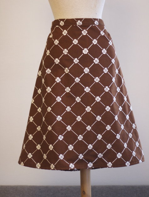 simple a line skirt sewing projects burdastyle