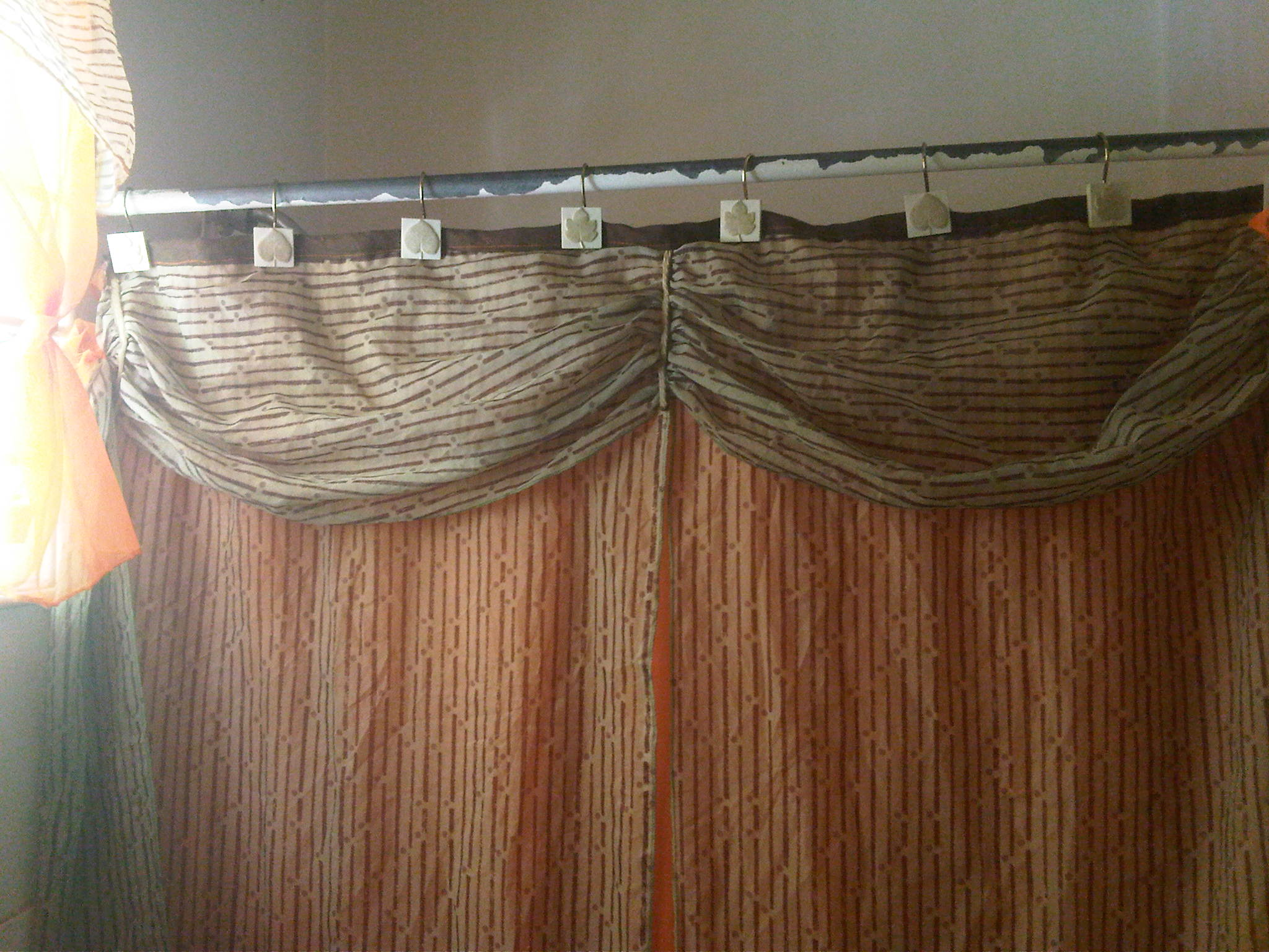 Classy Sheer Shower Curtain – Sewing Projects