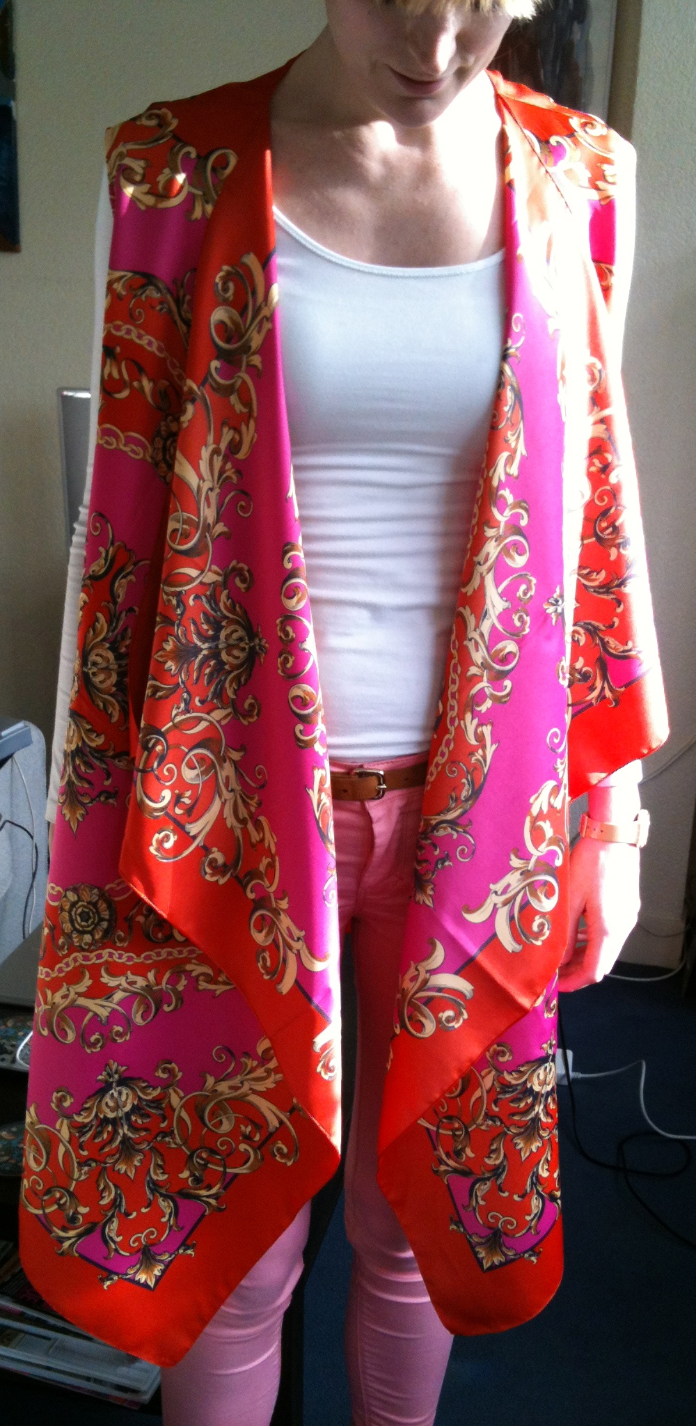 2 Scarf Vest Sewing Projects Burdastyle Com