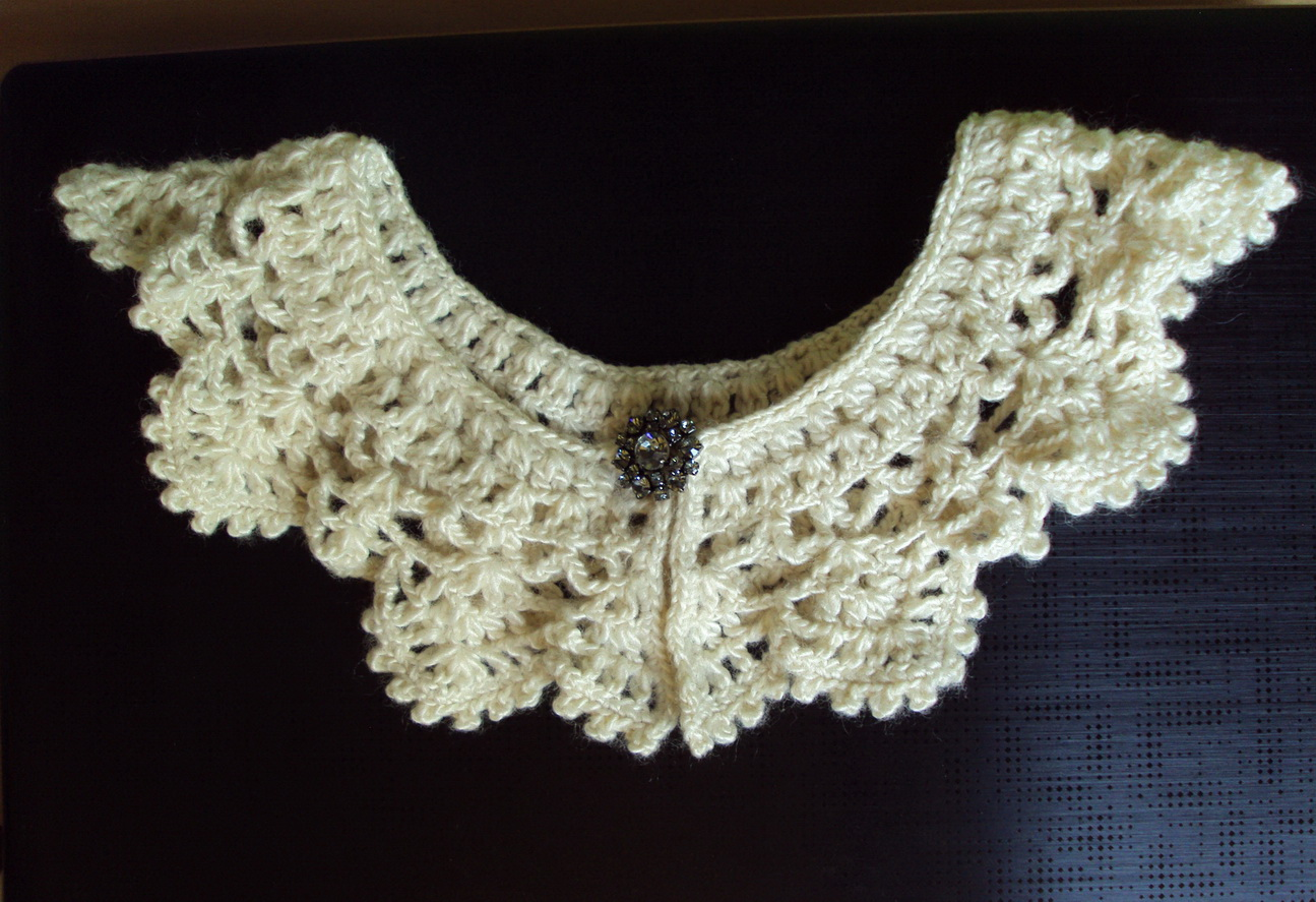 Romantic crochet collar sewing projects burdastyle bankloansurffo Image collections
