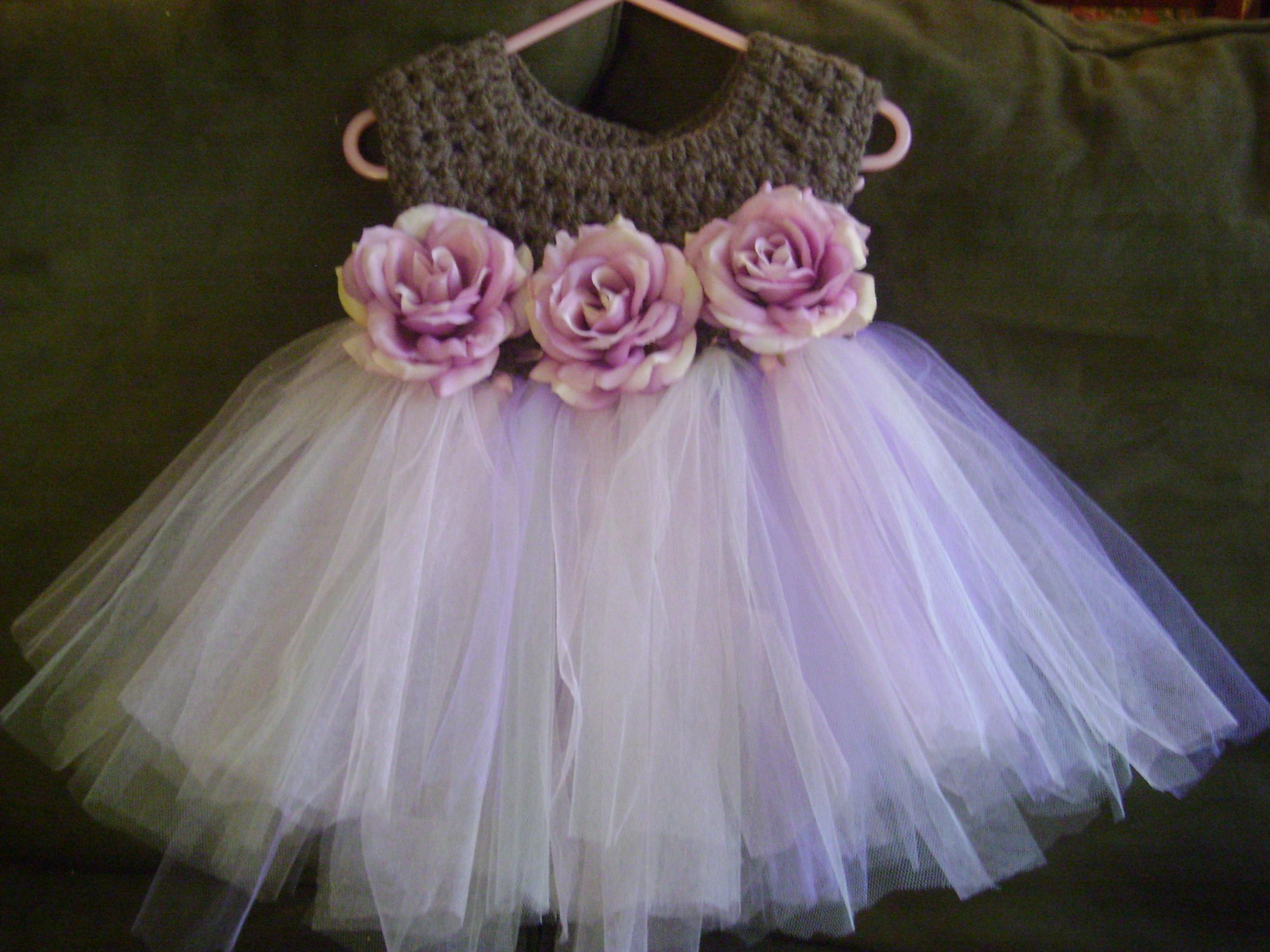 Crochet top Tutu dress ? Sewing Projects BurdaStyle.com