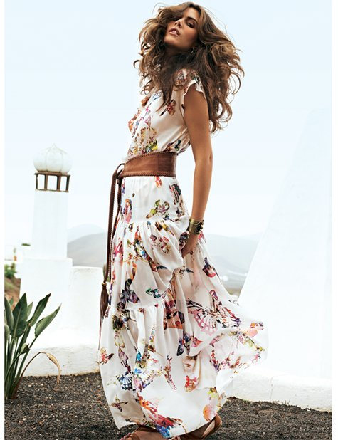Tiered Maxi Skirt 05/2012 – Sewing Projects | BurdaStyle.com