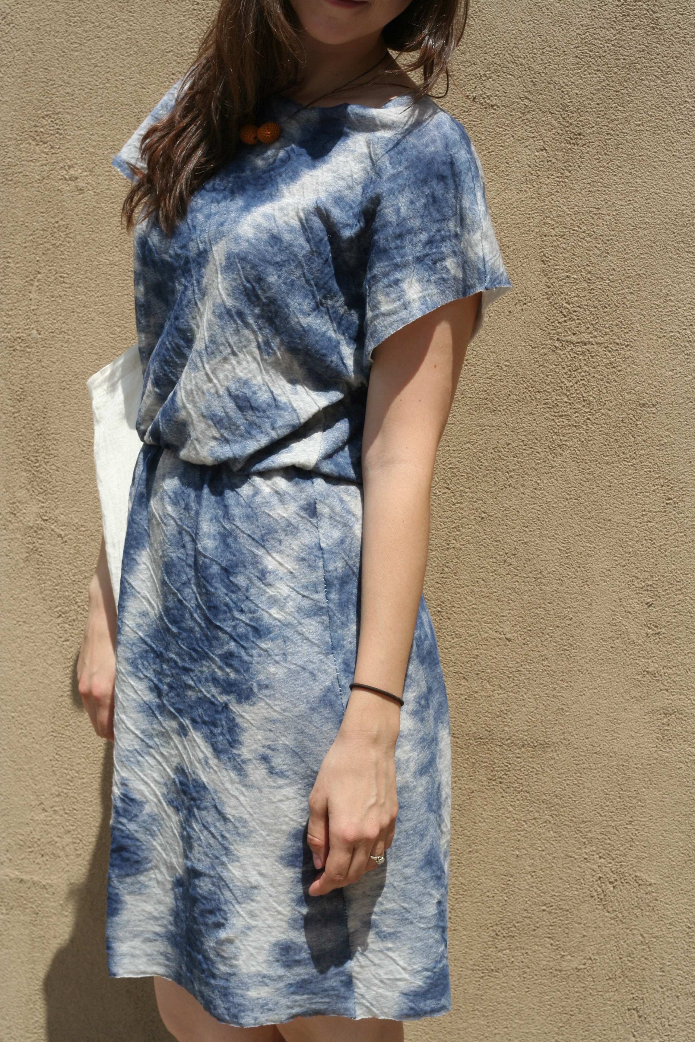 Easy Short Kimono Sleeved Dress Sewing Projects