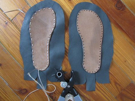 Pattern for Leather Baby Moccasins - Mobile Resources