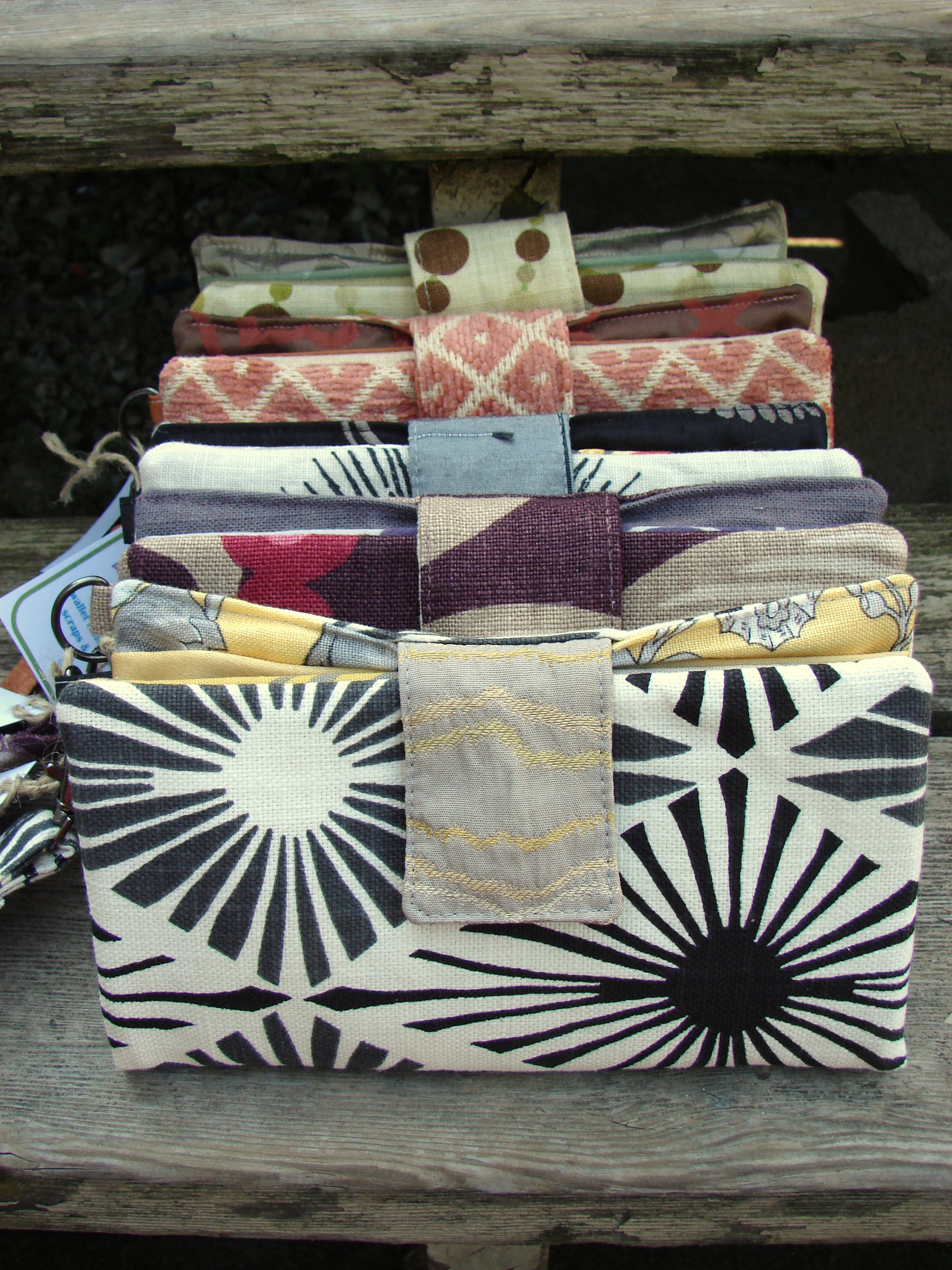 Clutch Wallet From Upholstery Swatches Sewing Projects