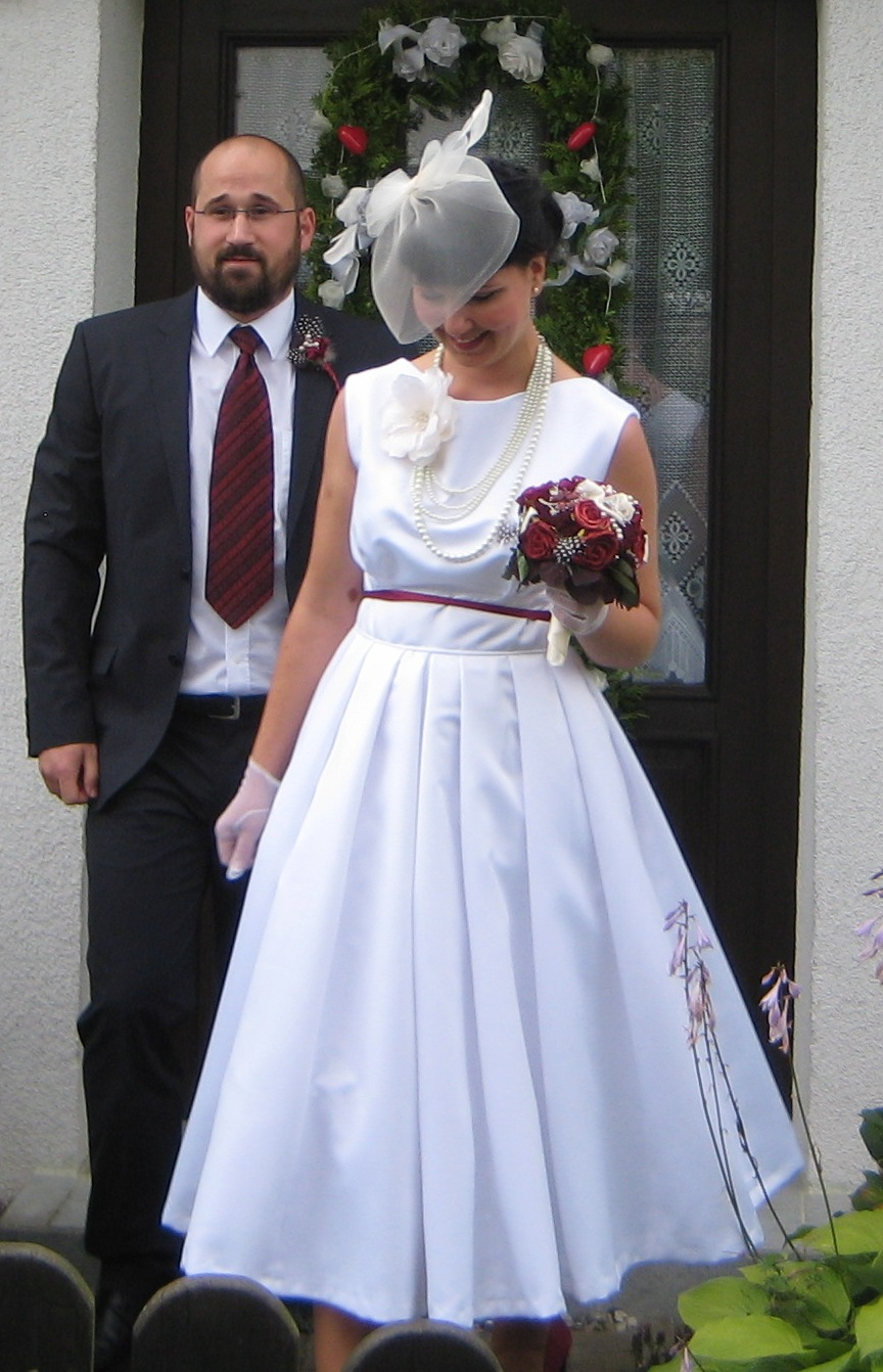 Vintage Tea Length Wedding Dress Sewing Projects