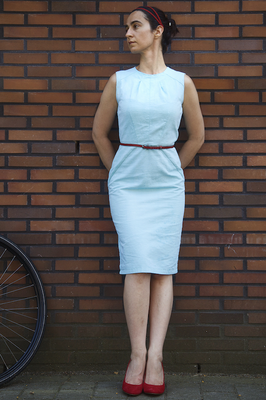 Aguamarina Sheath Dress Sewing Projects Burdastyle Com