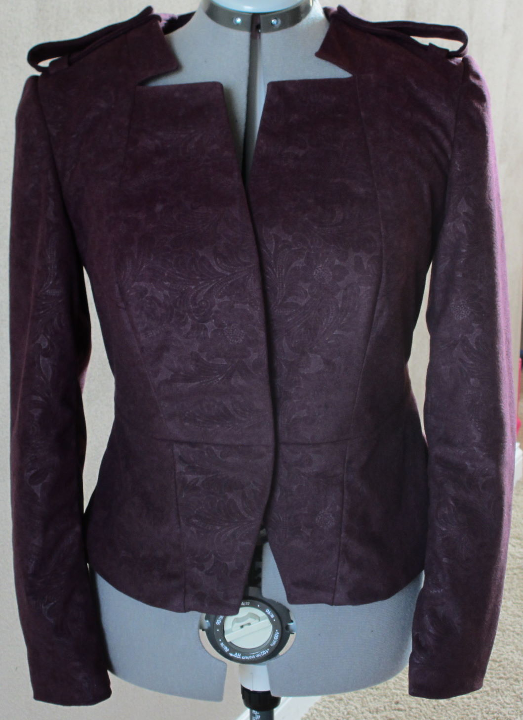 Fall Cropped Jacket – Sewing Projects
