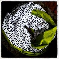 Green-navydots-infinityscarf_listing