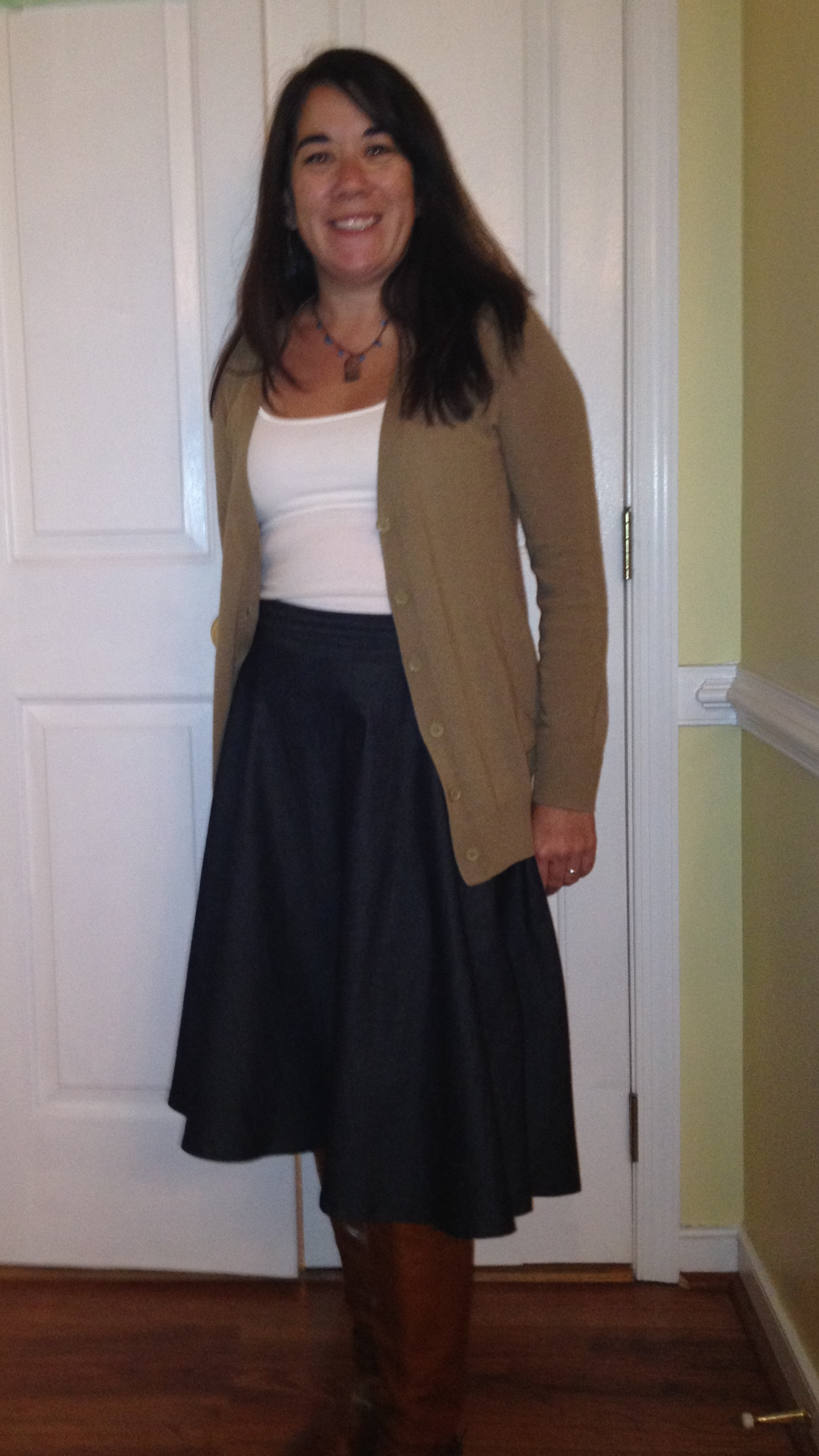 Denim Circle Skirt U2013 Sewing Projects | BurdaStyle.com