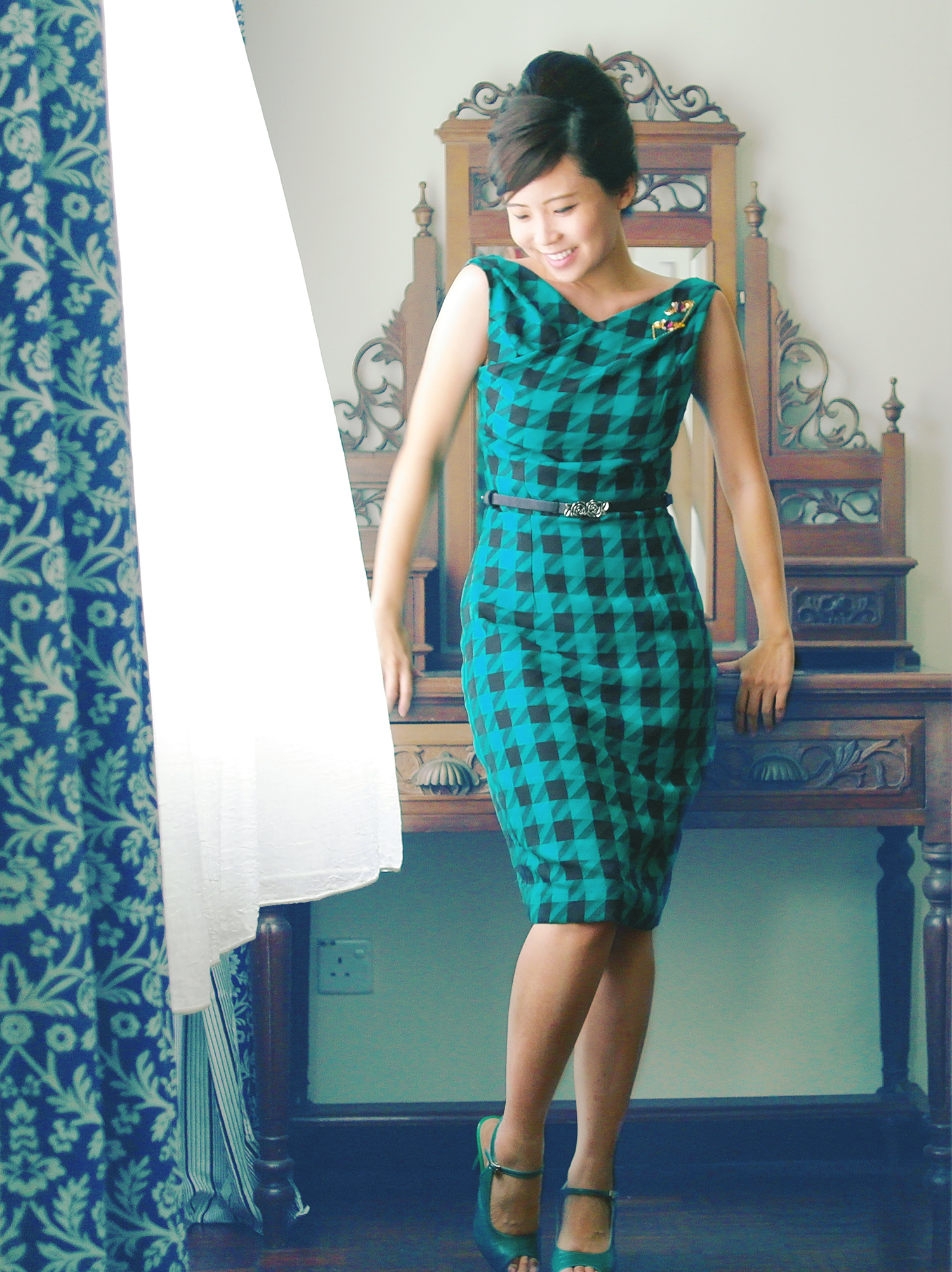 mad menners wiggle dress � sewing projects burdastylecom
