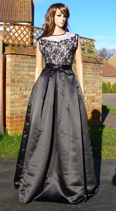 Long Pleated Evening Skirt Sewing Projects Burdastyle Com