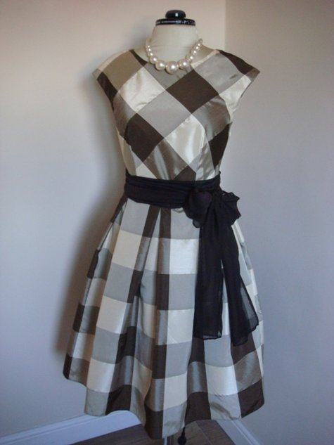 Sewing vintage modern contest 2013 elizabeth gathered waist dress